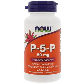 P-5-P 50mg.60tab.NOW Foods - Vitamiinit - 06348 - 1