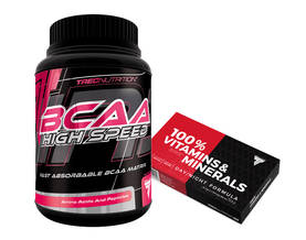 BCAA High Speed TREC Nutrition Aminohappojauhe - BCAA - 02409