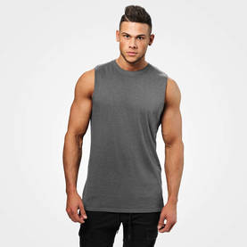 Better Bodies - Bronx Tank, Dark Grey Melange - Better Bodies tank topit - 06279 - 1