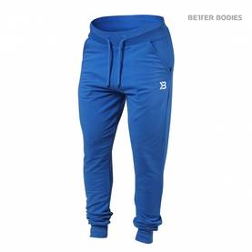 Better Bodies - Soft Tapered Pants, Bright Blue - Better Bodies housut - 02089 - 1