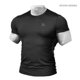 Better Bodies - Tight Function Tee, Black - Better Bodies t-paidat - 01409 - 1