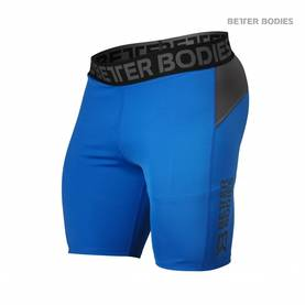 Better Bodies, Compression Shorts, Strong Blue - Better Bodies shortsit - 02599 - 1