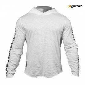 GASP - No Compromise Hood, White - GASP hupparit ja takit - 02009 - 1