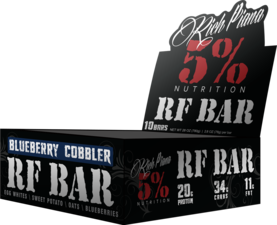 Rich Piana 5% - RF Bar.70gx10 - Proteiinipatukat - 06359 - 1