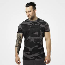 Better Bodies - Washington Tee, Dark Camo - Better Bodies t-paidat - 06049 - 1