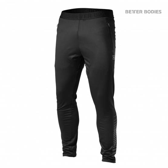 Better Bodies - Brooklyn Gym Pant, Black - Better Bodies housut - 02449 - 1