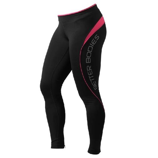 Better Bodies - Fitness long tights, Hot Pink - Better Bodies housut - 00429 - 1