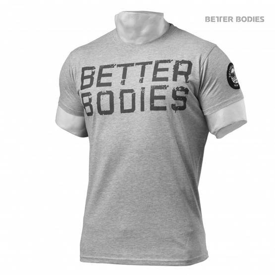 Better Bodies Basic Logo Tee T-paita - Better Bodies t-paidat - 00959 - 1